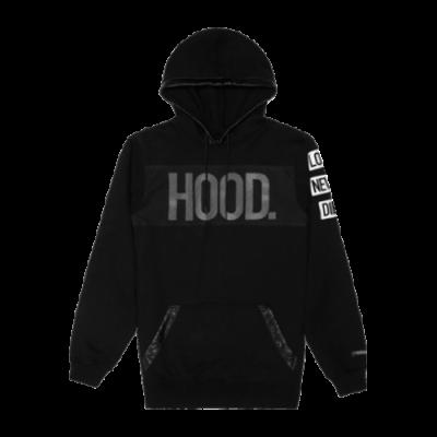 Cayler & Sons Black Label Hood Love Long Hoody džemperis