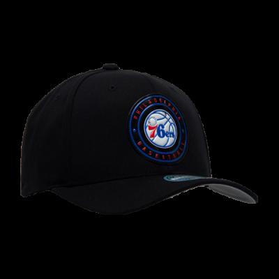 Mitchell & Ness NBA Philadelphia 76ers Circle Weald Patch kepurė