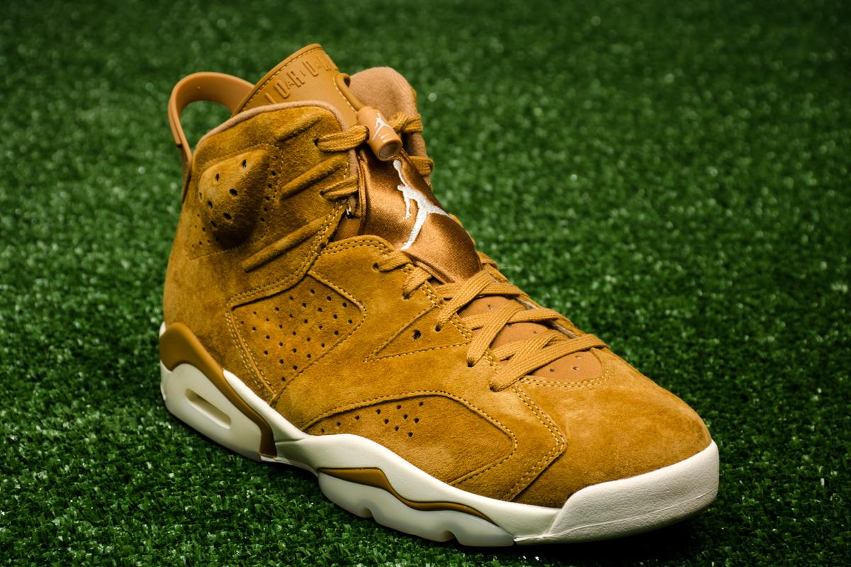 Air Jordan 6 Retro Golden Harvest Shoes Casual
