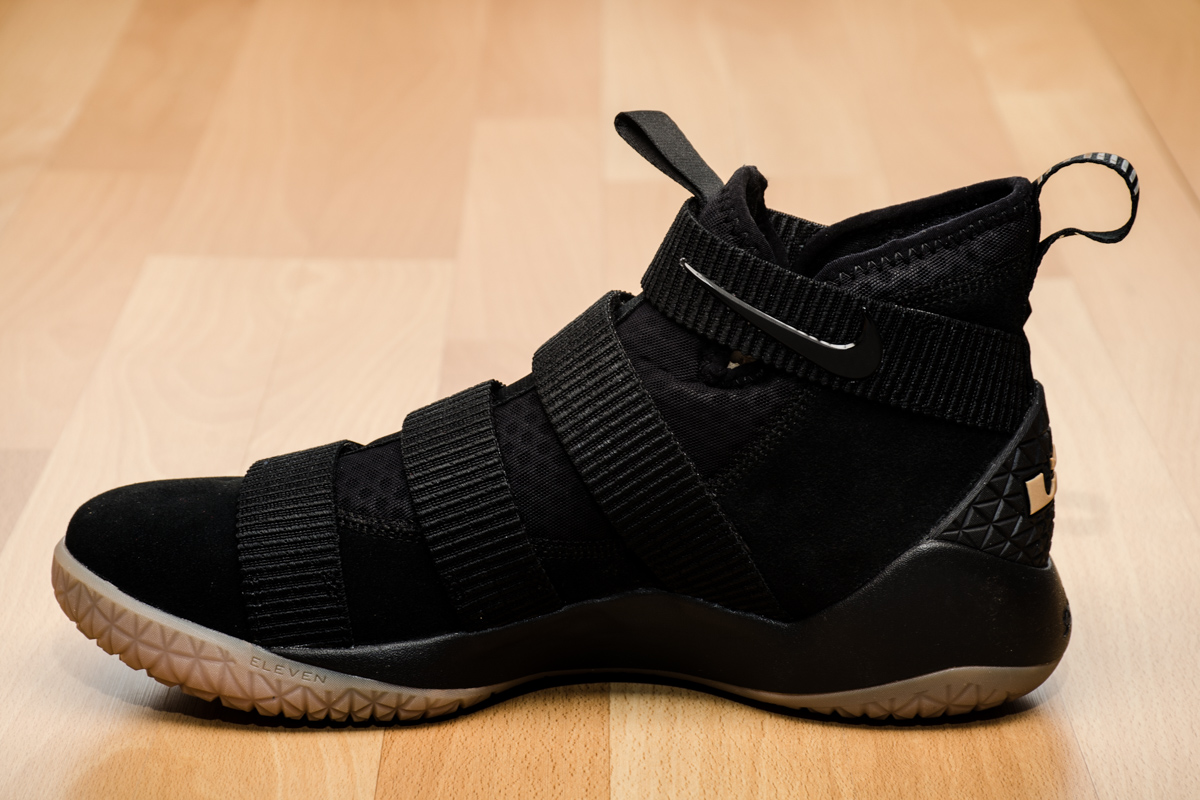 30fb66f88ecac ... low price nike zoom lebron soldier xi 11 black white men basketball  shoes ca7c7 17dd1