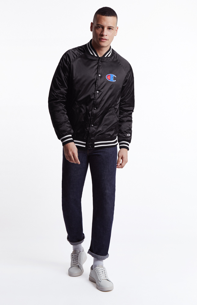 Champion Bomber Jacket Clothes Jackets Sporting Goods