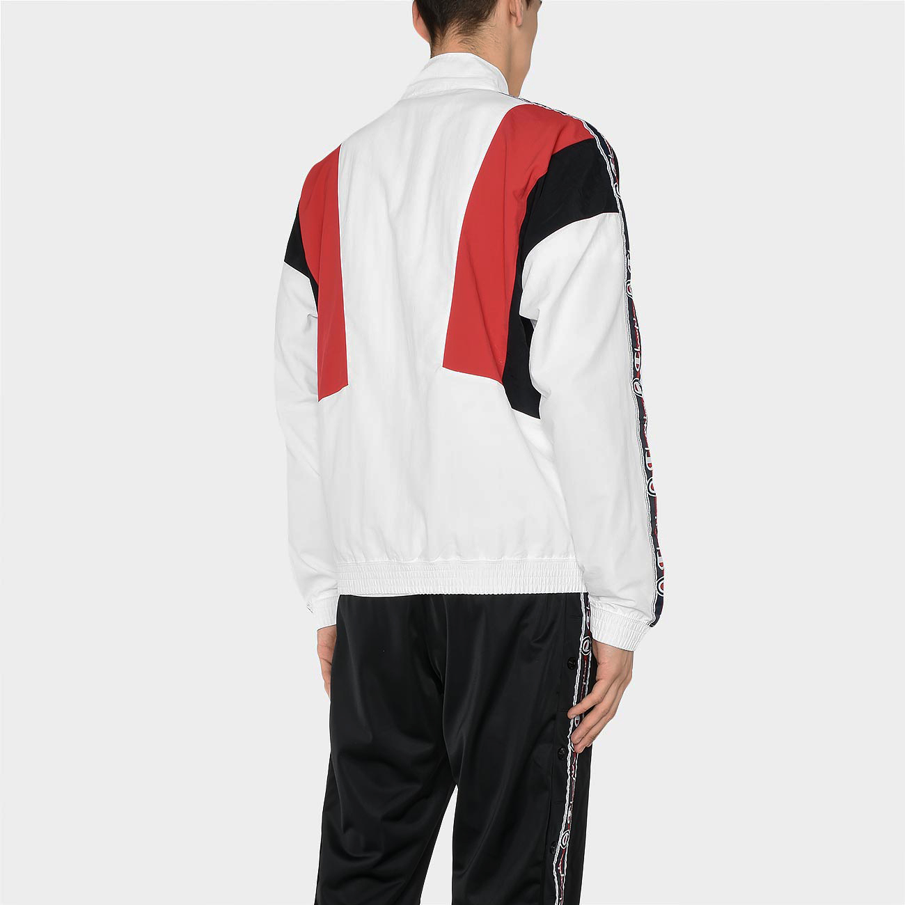 champion jacquard logo tape tracksuit jacket clothes