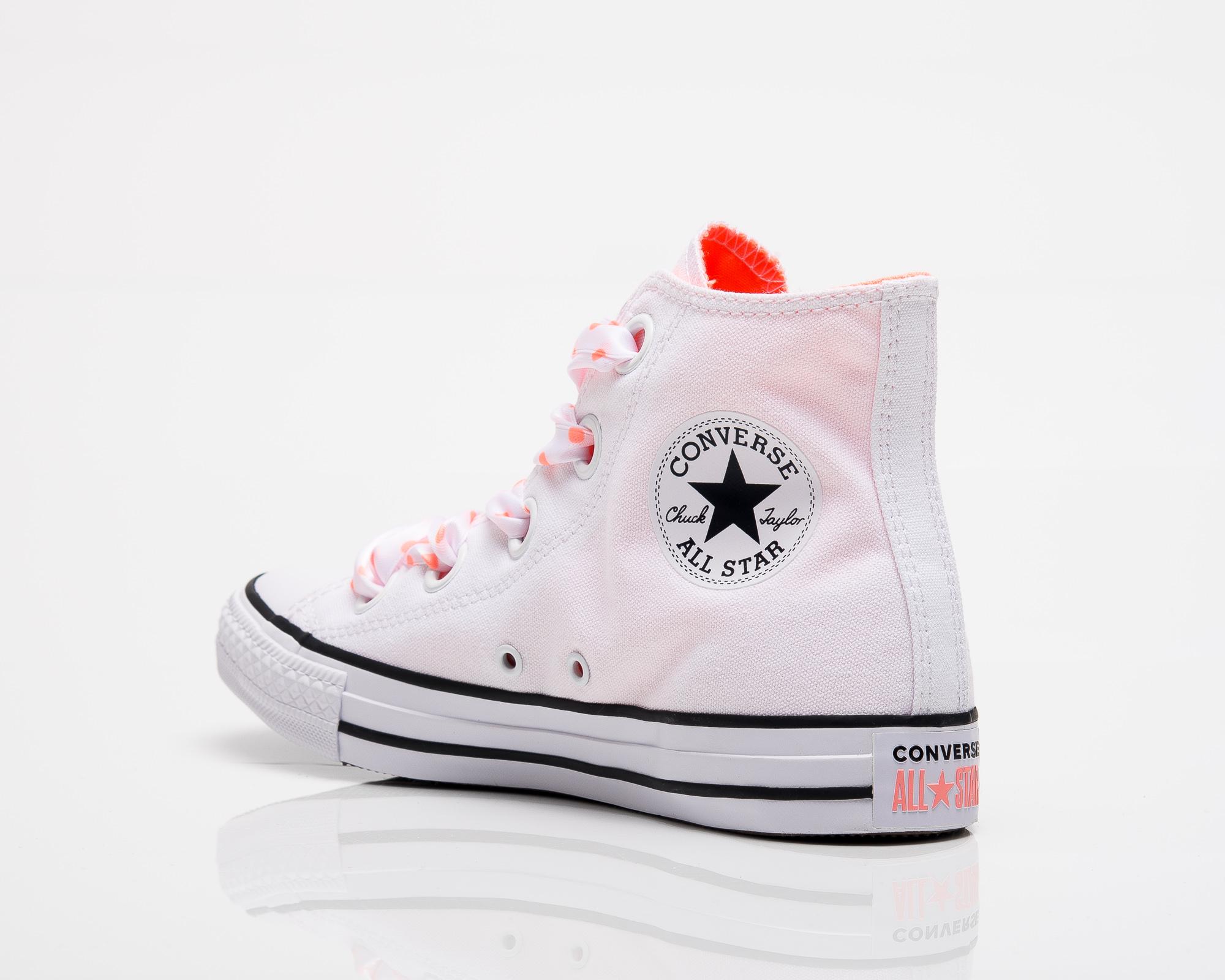 b8da7c9d1132 Converse All Star Chuck Taylor Big Eyelets Hi - Shoes Casual ...