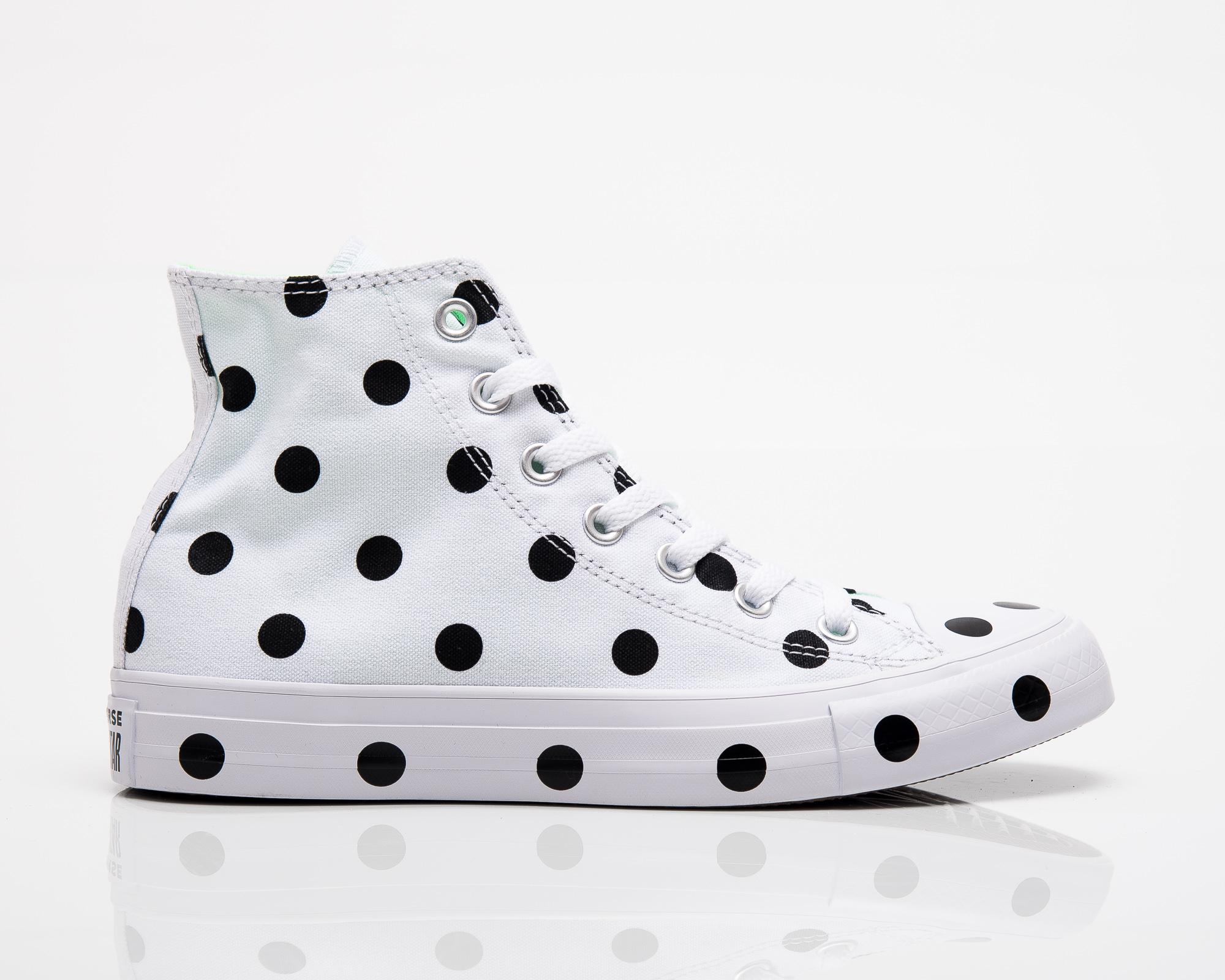 Converse Wmns All-Star Chuck Taylor Polka Dots Hi - Shoes Casual ... d077cdbf5