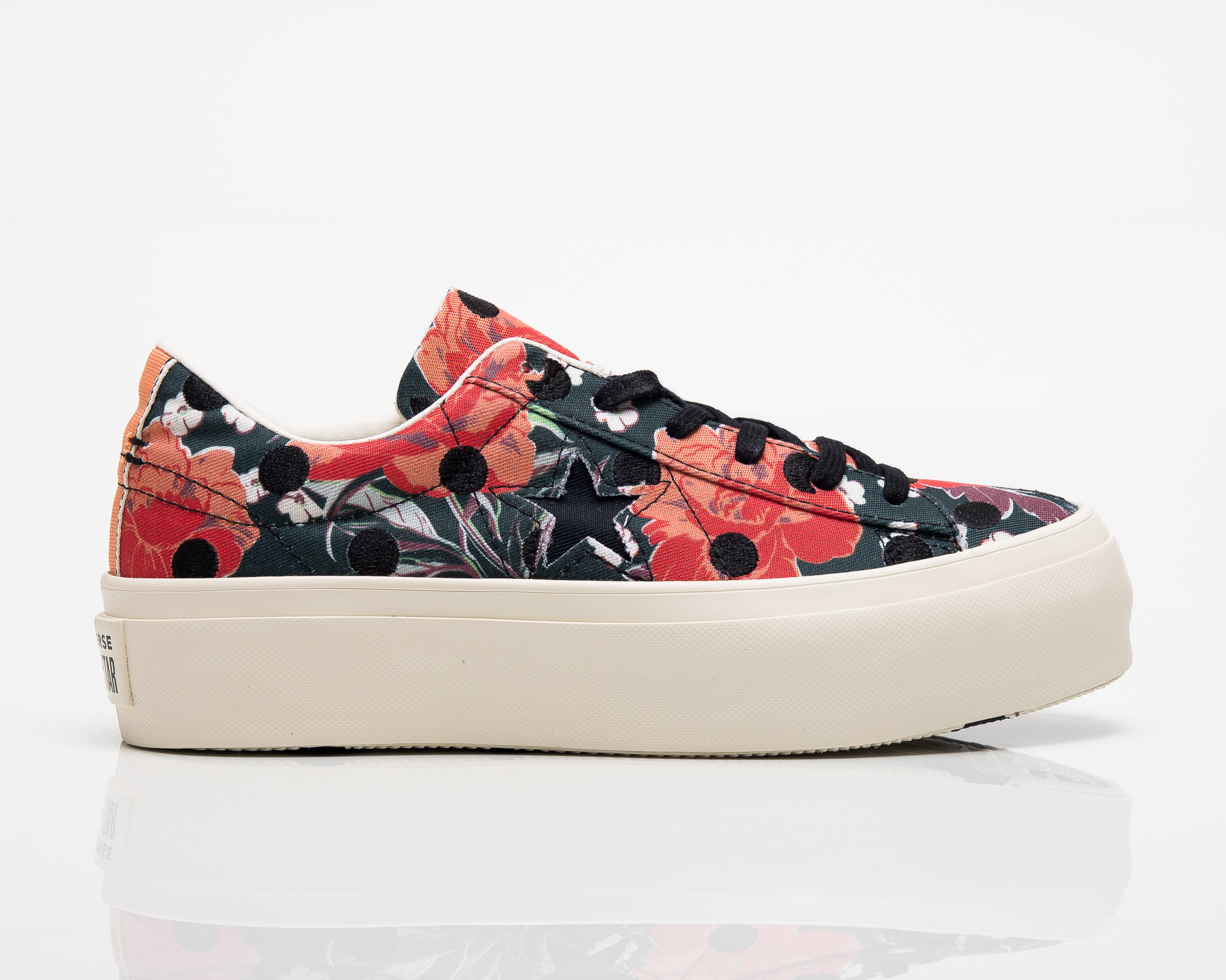 3d2d9064876a46 Converse Wmns One Star Platform Dots Ox - Shoes Casual - Sporting ...