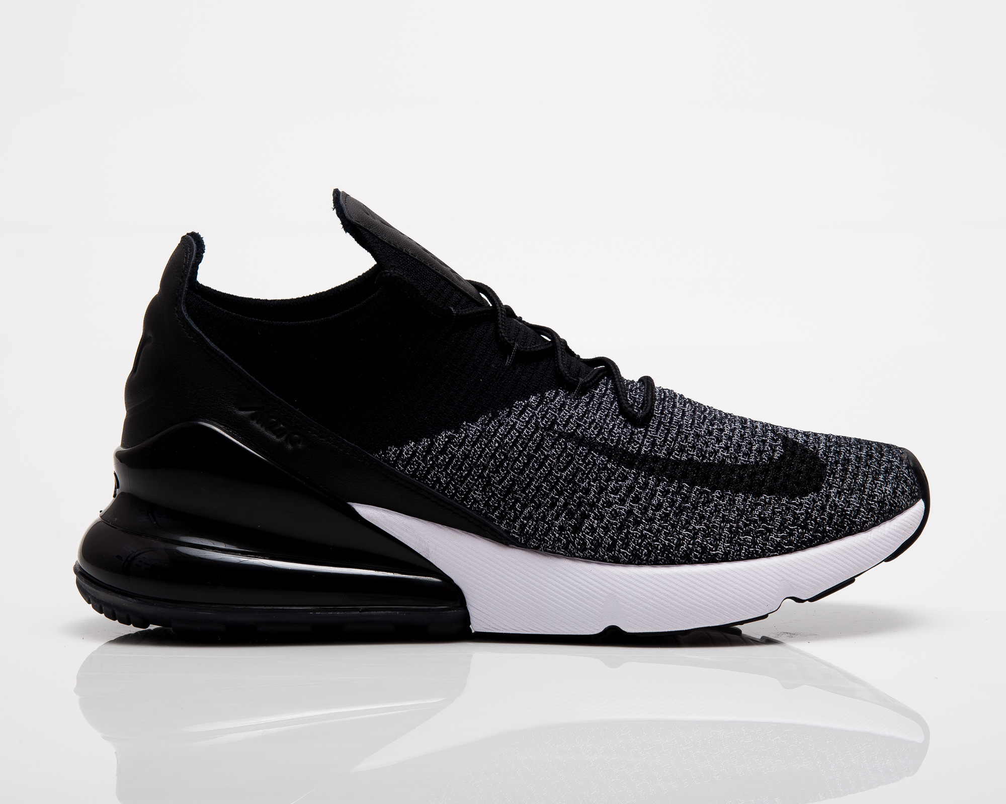 nike air max 270 flyknit triple white WearTesters