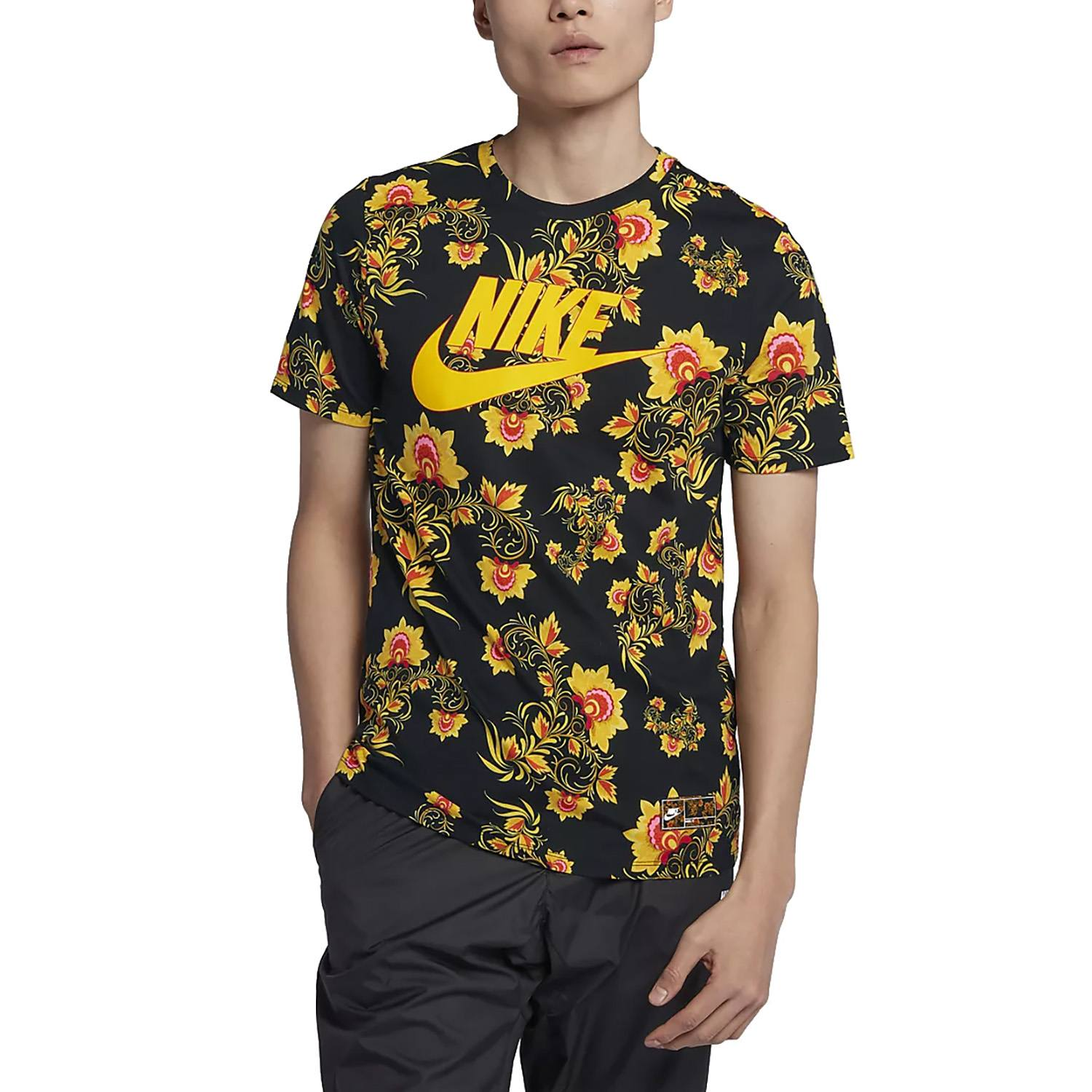 Nike nsw floral tee clothes shirts sporting goods for Kd t shirt nike