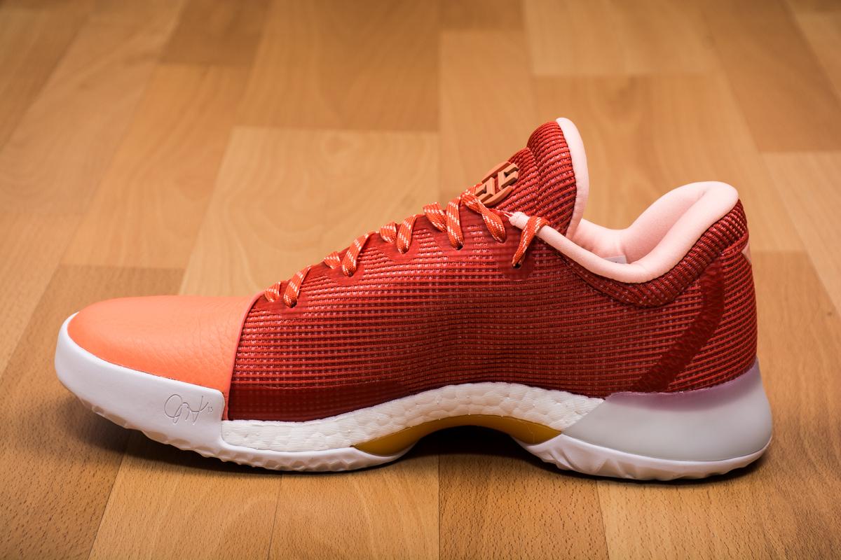 b8030ed78d9f 1 Shoes + Adidas Basketball + Chalk CoralTrace 1 vapor sneaker 17616 a777e adidas  Harden Vol.