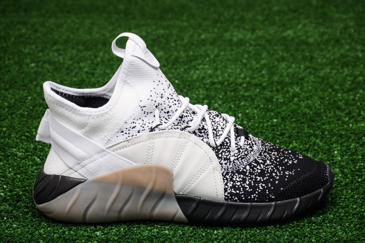 Adidas primeknit scarpe casual sportivi originali tubulare, aumento