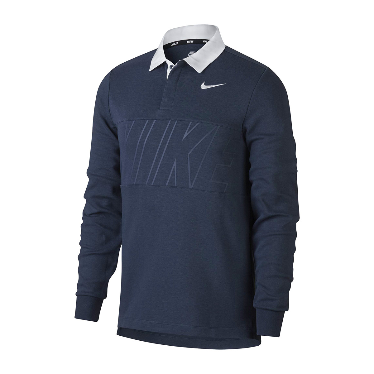 Nike sb dry long sleeve skateboarding polo shirt clothes for Nike sb galaxy shirt