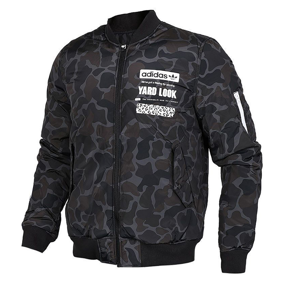 22d4d87cc adidas Originals Graphic Reversible Bomber Jacket - Clothes Jackets ...