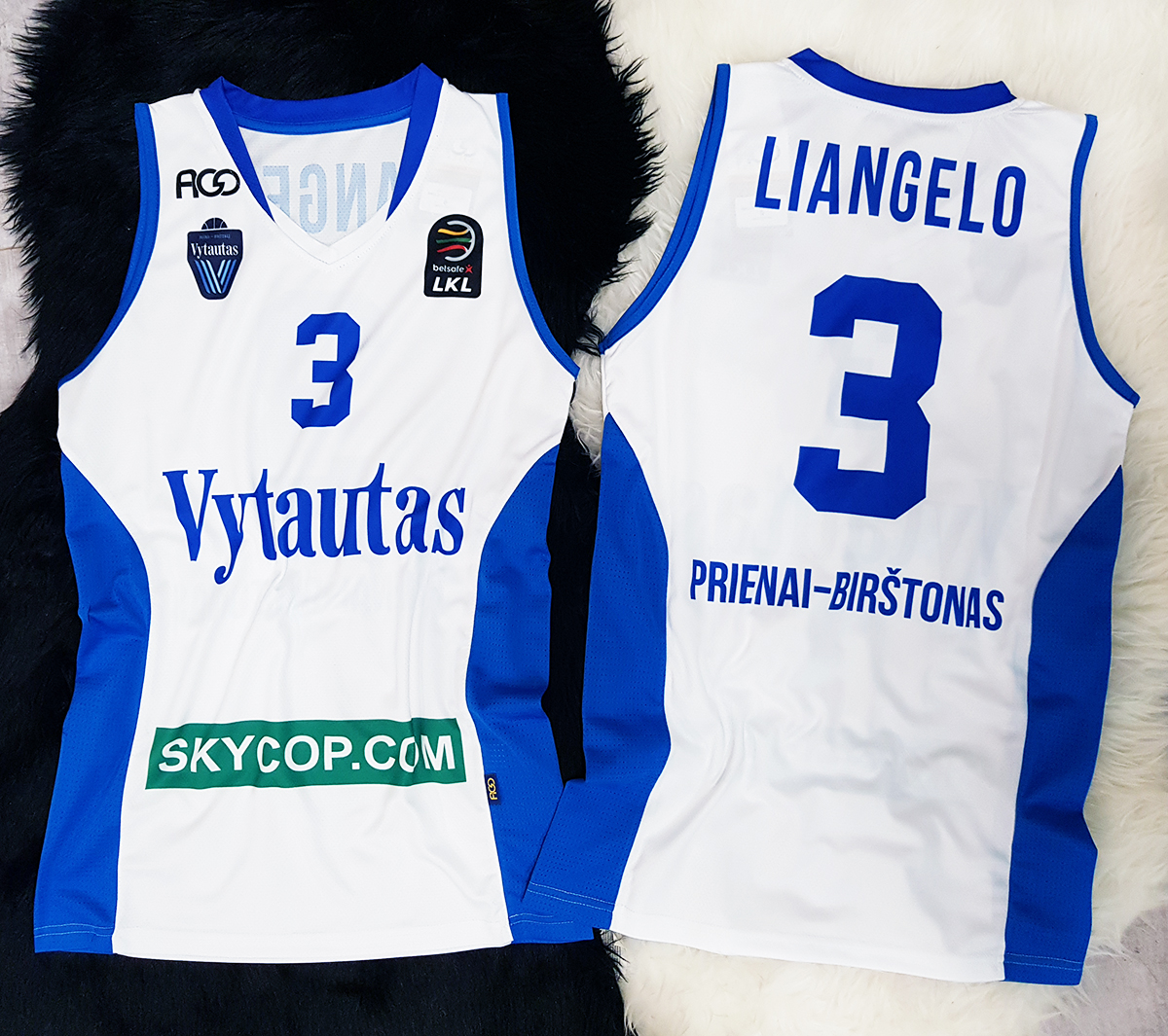 97f7dc2f941f LiAngelo Ball BC Vytautas Official Jersey - Clothes Shirts ...