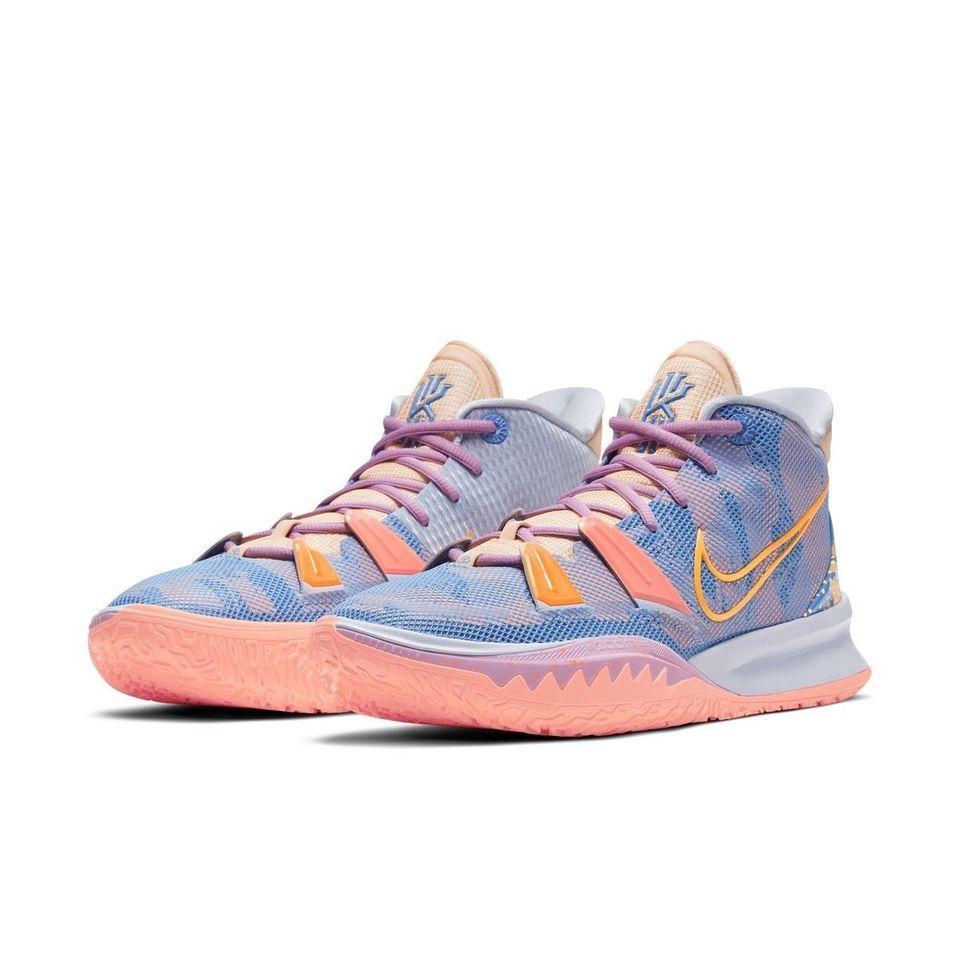 Nike Kyrie 7 Pre Heat atskleis ryškias spalvas ir magiškas skaičių paslaptis