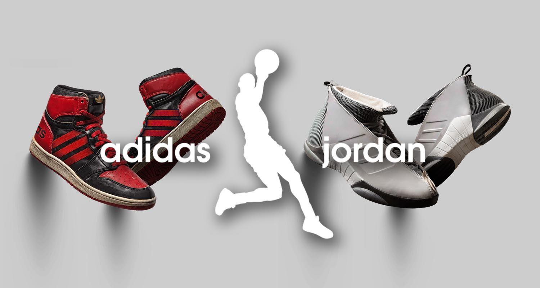 """adidas Jordan: kaip atrodytų MJ bateliai, atgimę po """"trijų juostų"""" vėliava?"""