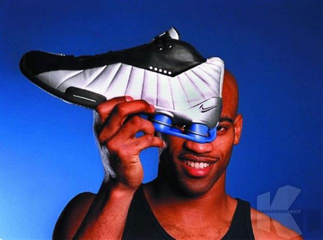 Nesibaigiantis Nike Shox skrydis