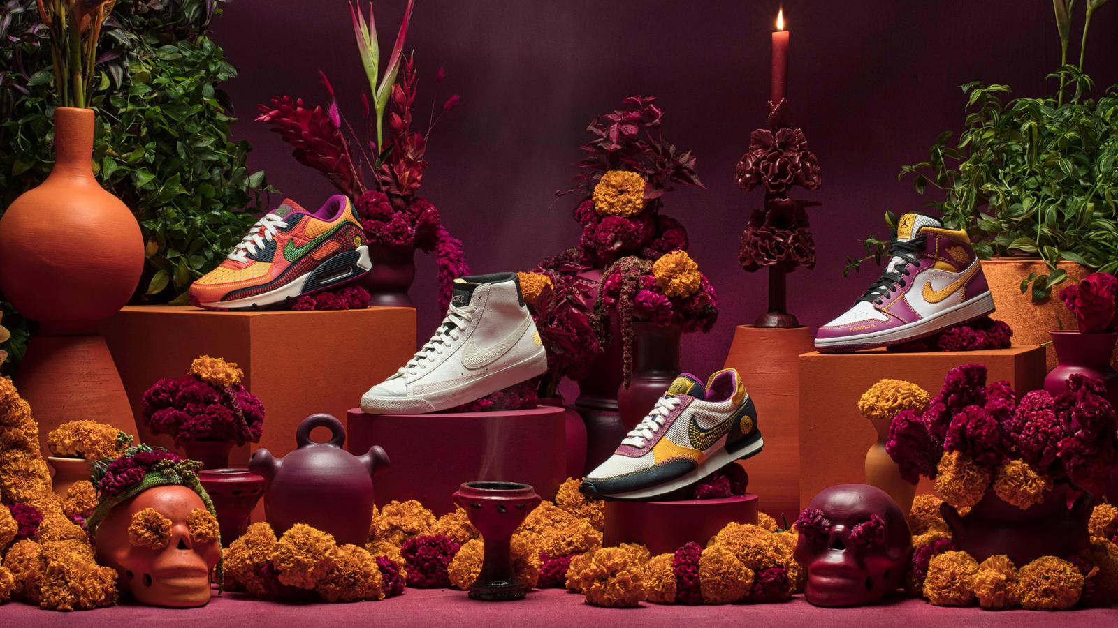 Pagarba Meksikos tradicijoms – Nike Dia de Muertos kolekcija